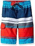 Kanu Surf Boys' Impact Stripe Swim Trunk