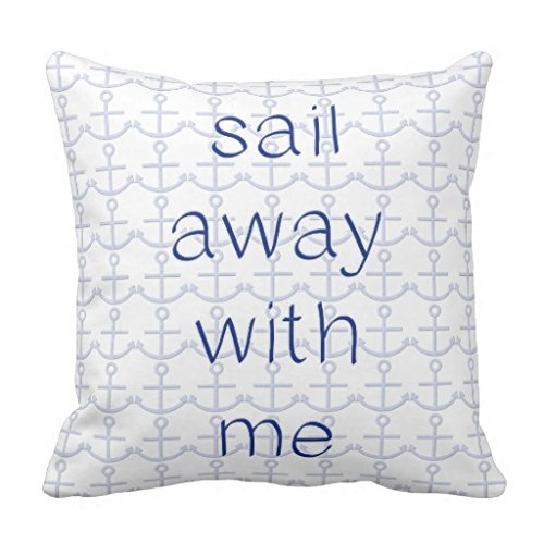 - Sail Away With Me Pillow Case