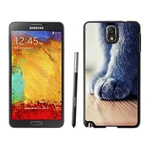 Fashion Custom Designed Cover Case For Samsung Galaxy Note 3 N900A N900V N900P N900T Phone Case With Cat Foot Macro Close Up_Black Phone Case