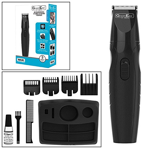 Wahl Groom Ease Cordless Rechargeable Beard, Moustache & Stubble Trimmer Tooltime® Wahl