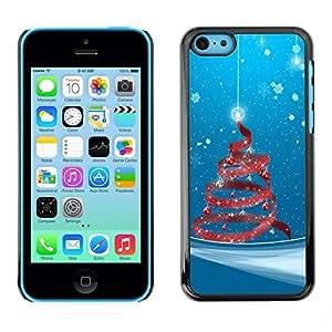 diy phone caseYOYO Slim PC / Aluminium Case Cover Armor Shell Portection //Christmas Holiday Red Tree Deocration 1091 //Apple Iphone 5Cdiy phone case