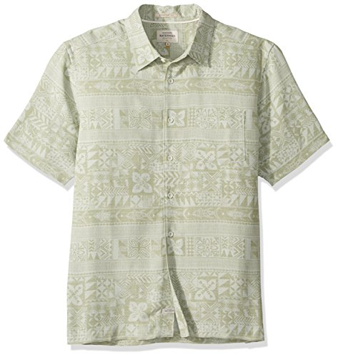 Quiksilver Mens Aku Fish Woven Top