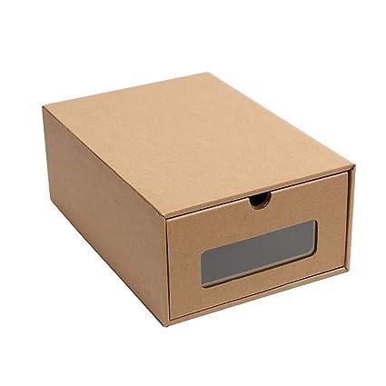 Organizador de zapatos de cartón grueso de Baffect, cajas y contenedores para el