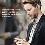 Avoalre Non-tangle Flat In Ear Earphones with Microphone for iPhones 6 6s 6 plus 6s plus 5 5s Android Devices MP3 players--Grey