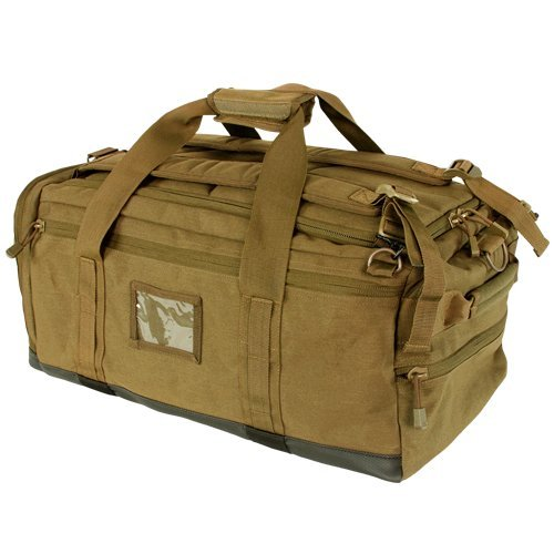 Coyote Brown Centurion Duffle Bag By Condor