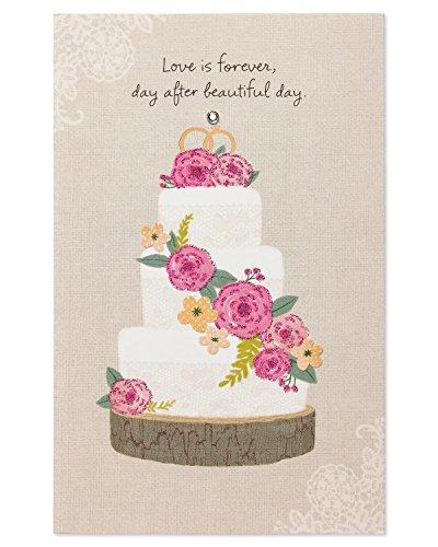 Love Forever Rhinestone (Love is Forever Wedding Card with Rhinestone)