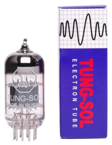 Tungsol 12AT7  6201 Pre-amp Tube by Tung Sol
