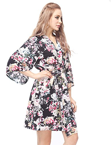 Skyfitting Women s Kimono Robe ... 1060b87ff