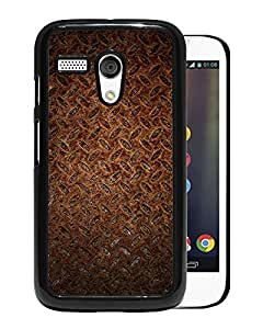 New Beautiful Custom Designed Cover Case For Motorola Moto G With Rusted Metal Phone Case