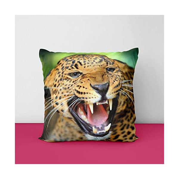 51ajsjYQShL Laperd Square Design Printed Cushion Cover