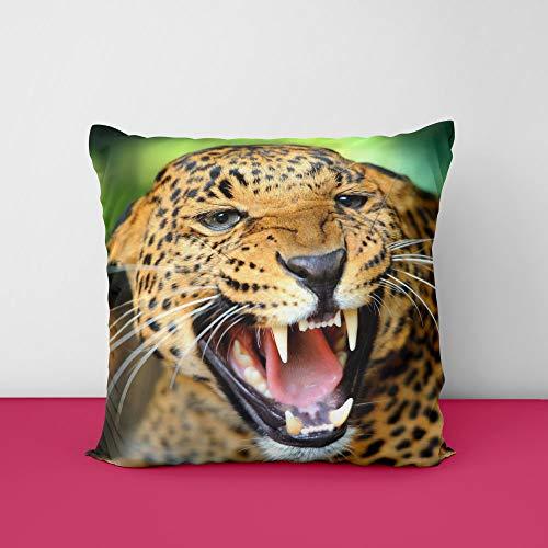 51ajsjYQShL Laperd Square Design Printed Cushion Cover