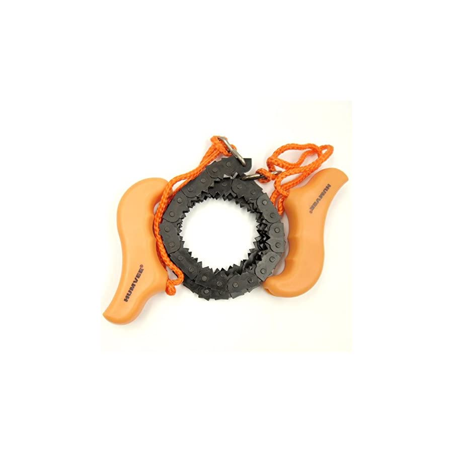 Humvee Awesome compact Pocket Chainsaw Hand Tool for Survival Gear Camping Hunting Tree Cutting Home Owner Lawn Maintenance