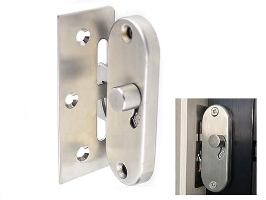 Cerradura de la puerta deslizante del granero del acero inoxidable 304 cerradura de la puerta del granero deslizante y cierre de la hebilla del ...