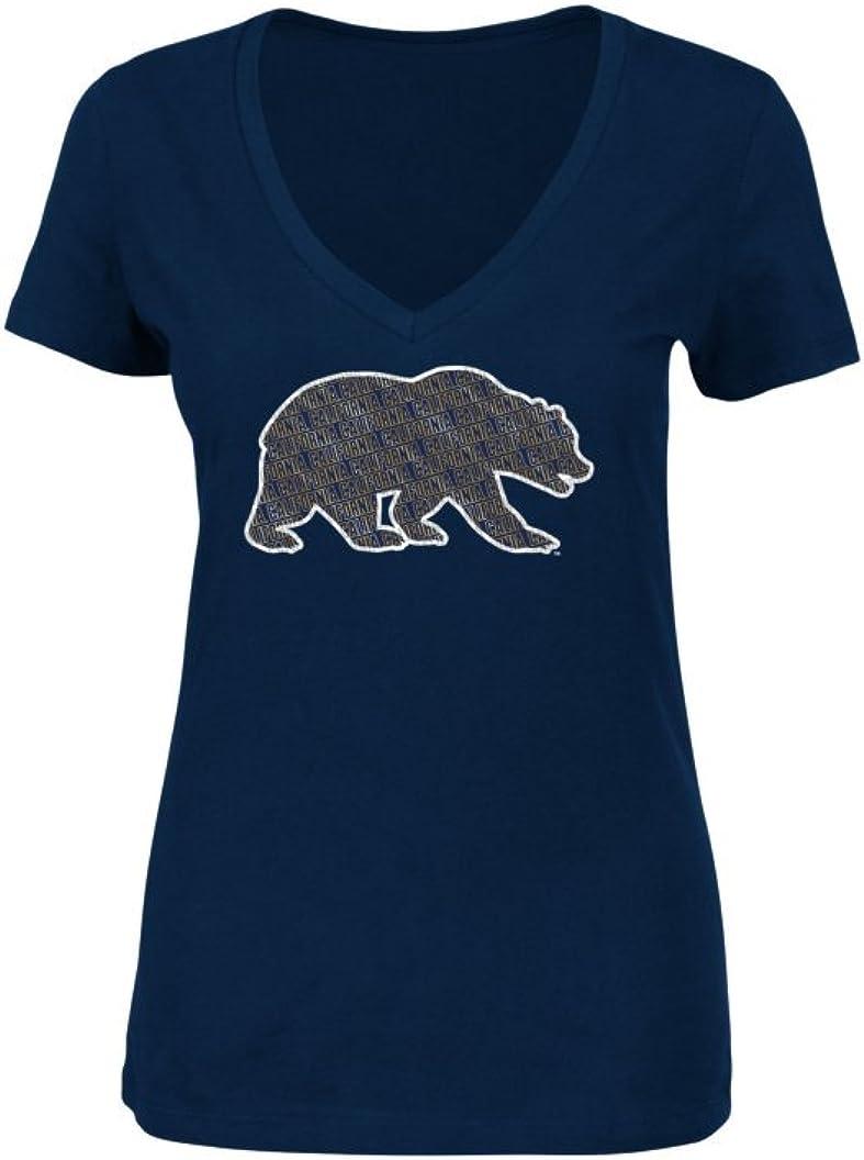NCAA Womens Poised Play Short Sleeve V-Neck T-Shirt