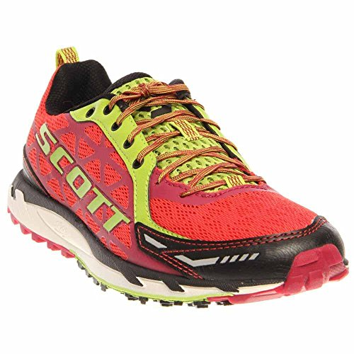 Scott Running Women's Trail Rocket Womens Walking Shoe,Red/Green,10 C US