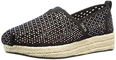Skechers BOBS from Women's Highlights-Glamsquad Flat, Black Gem, ...