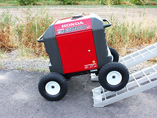 All Terrain Wheel Kit — fits Honda EU3000is Generator