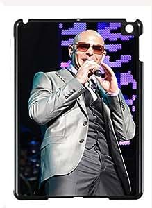 Case Cover Design Pitbull Singer PI05 for Ipad Air Border Rubber Silicone Case Black@pattayamart