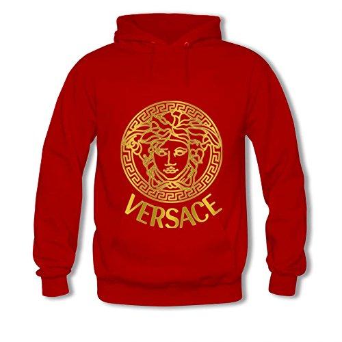 (Kaodu Womens Hoodies Versace Red Size M )