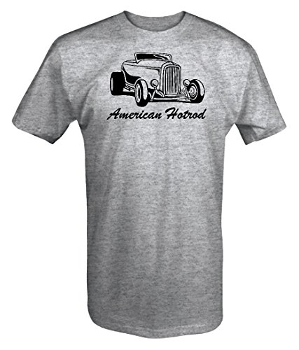 - American Hotrod Roadster Convertible 1930's 40's 50's Chevy Ford Custom T shirt - Large
