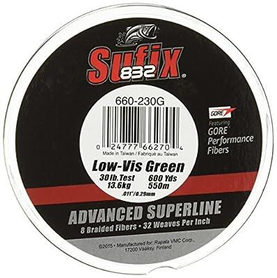 Sufix 832 Braid Line-600 Yards