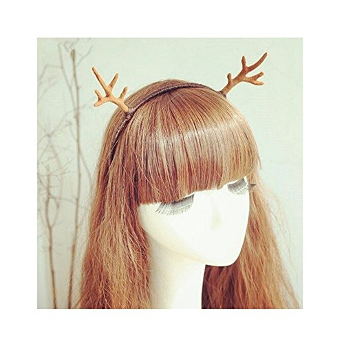Xmas Fun Deer Antlers Headband Christmas Easter Festive Party Decorations Hair Head Band