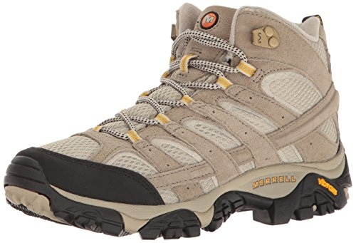 Merrell Women's Moab 2 Vent Mid Hiking Boot, Taupe, 9 M US ()