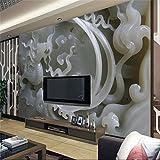 300cmX210cm wallpaper 3d Photo Background photography Chinese jade sculpture relief bedroom paper mural murals-3d papel de parede,300cmX210cm