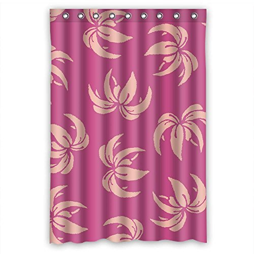 Price comparison product image MaSoyy Bath Curtains Of Flower Polyester Width X Height / 48 X 72 Inches / W H 120 By 180 Cm Best Fit For Valentine Teens Hotel Lover Family. Durable. Fabric