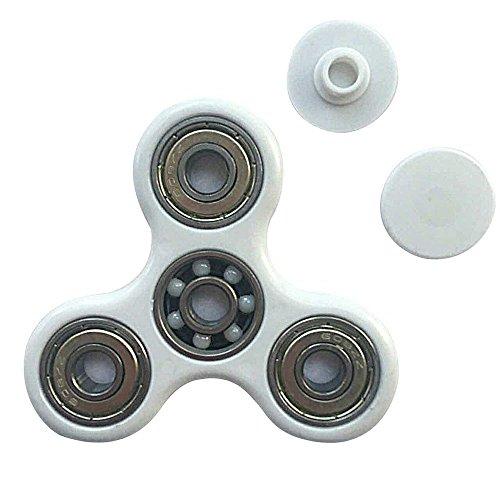 Spinner Fidget Toy 3D Printing Ceramic Bearing EDC Focus Toy for Killing  Time (standard, White) from JOJO-88