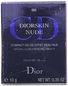 Christian Diorskin Nude Natural Glow Creme Gel Makeup SPF 20, 0.35 Ounce