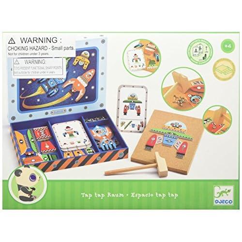 Set 6 Fun Party Games Tic-Tac-Toe 2 Paddleballs Domino Jacks Pick-up Sticks Coil