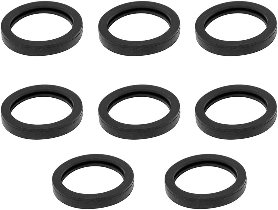 5 2 10 Gal 10L Fuel Tank Spout -8 Pack Podoy Gas Can Spout Gasket Replacement Universal Rubber Fuel Can Spout Seals for 1 2.5