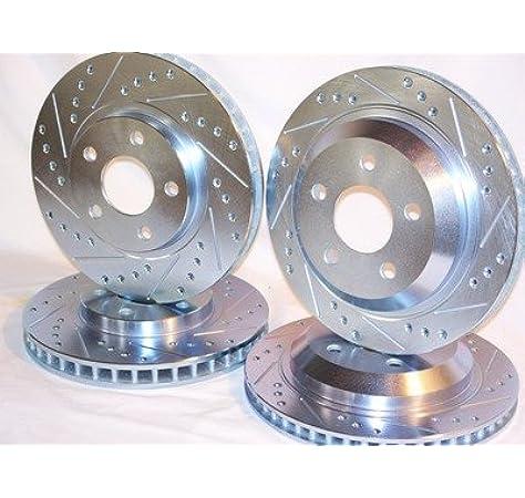 Complete Set Front /& Rear Brake Rotors Fits Pontiac Firebird Camaro 1998-2002
