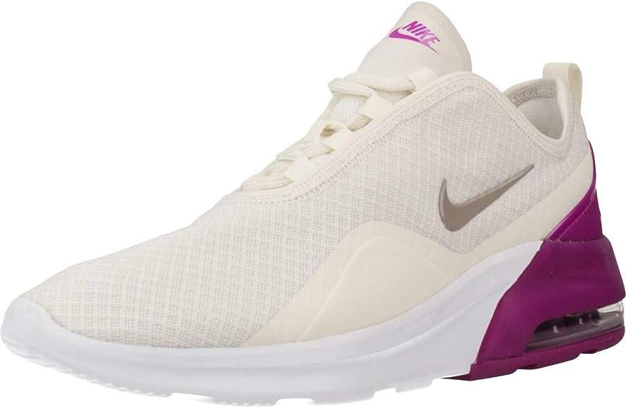 Parche Por encima de la cabeza y el hombro curva  Nike Wmns Air MAX Motion 2, Zapatillas de Running para Mujer, Multicolor  (Phantom/Pumice-Hyper Violet 6), 41 EU: Amazon.es: Zapatos y complementos