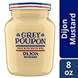 Grey Poupon Dijon Mustard, 8 ounce Jar