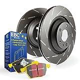 EBC Brakes S9 Rear Kits Yellowstuff and USR Rotors, S9KR1158
