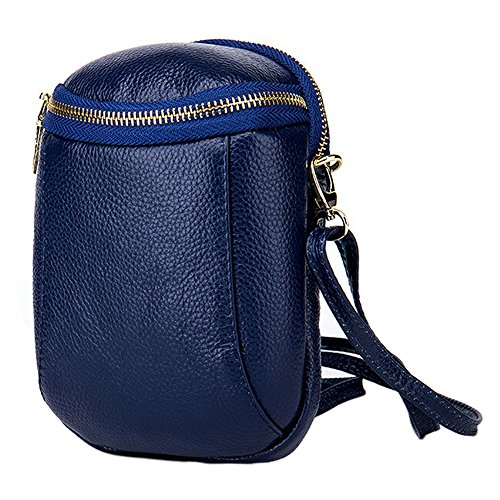 boshiho - Bolso cruzados para mujer Azul