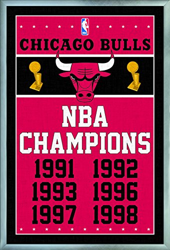 Trends International NBA Chicago Bulls - Champions Wall Poster, 24.25