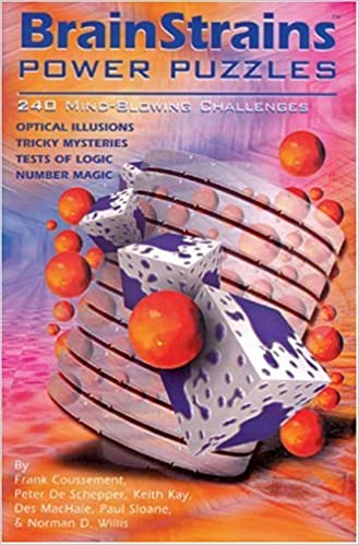 Book BrainStrains®: Power Puzzles: 240 Mind-Blowing Challenges