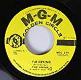The Animals 45 RPM I'm Crying / The House of the Rising Sun