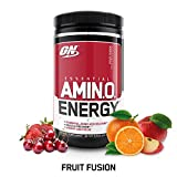 Essential Amino Energy - Fruit Fusion 0.6 lb PowderUse anytime for Essential Amino Acid Delivery, Nitric Oxide Production, Muscle Recovery Acceleration, Improved Energy and Focus. Free Form Amino Acids for Rapid Uptake. Essential Amino Acids includin...