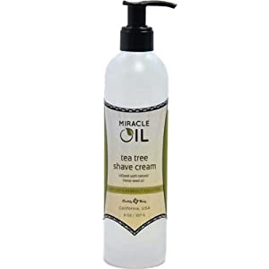 Earthly Body Miracle Oil Shave Cream, 8 Ounce