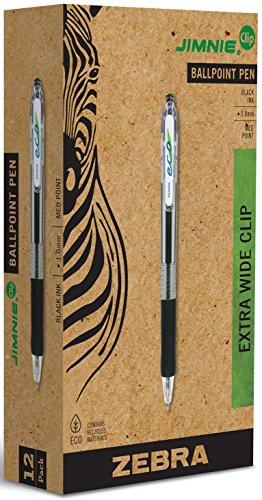 zebra jimnie clip retractable pen - 1