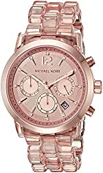 Michael Kors Women's Audrina Rose Gold-Tone Watch MK6203