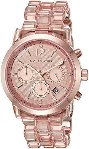 Michael Kors Women's Audrina Rose Gold-Tone Watch MK6203