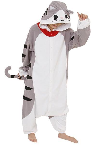 Pijamas de Disfraces Cosplay de Animales Adultos, Queso de Gato: Amazon.es: Ropa y accesorios