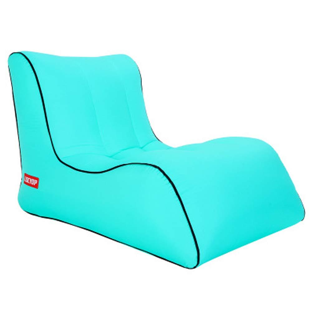 Lakevert M Yue Wo Sofa Gonflable de, lit Gonflable de Sac de Couchage de Plage extérieure, Sofa portatif à air, Chaise Longue Gonflable