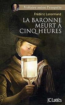 La baronne meurt à cinq heures par Lenormand