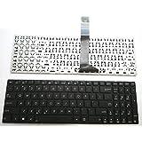 Laptop Keyboard Compatible for ASUS N73 N73JF N73JG N73Jn N73JQ N73SC N73SD N73SM N73SV N90 N90SC N90SV P52 P52F P52Jc P53 P53E P53SJ R503 R503U US Layout Black Color